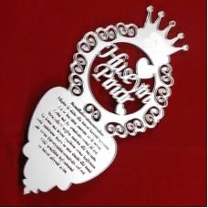Ayetel Kürsi Yazılı Araba Dikiz Aynası Süsü